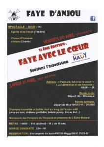 Participation à un concert caritatif de