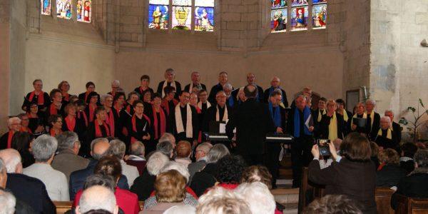 Concert avec la chorale Chant'Aubance