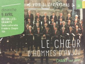 Concert à  Bécon les Granits