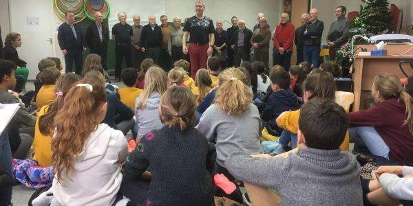 Beaulieu-sur-Layon : le choeur d'hommes retourne à l'école
